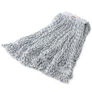 "Rubbermaid[R] Web Foot[R] Finish Mop - Medium, 1"", White. 6/cs"